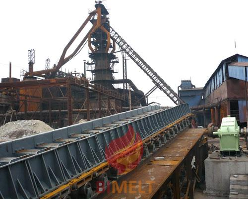 Belt type sinter plant