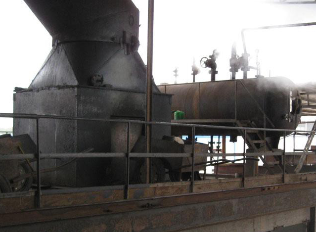 Lead smelting furnace